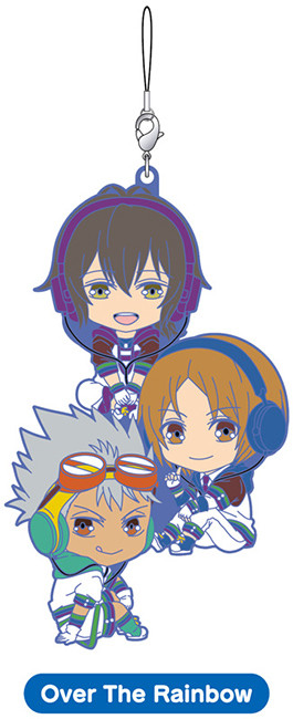Nendoroid Rubber Strap KING OF PRISM by PrettyRhythm - Over the Rainbow - KING OF PRISM by PrettyRhythm