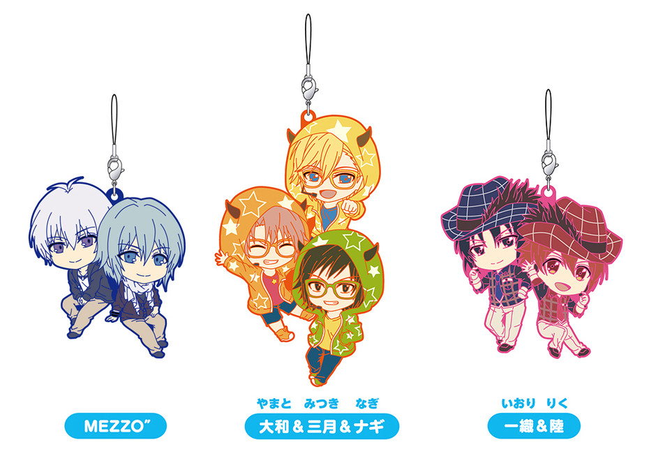 Rubber straps : IDOLiSH7
