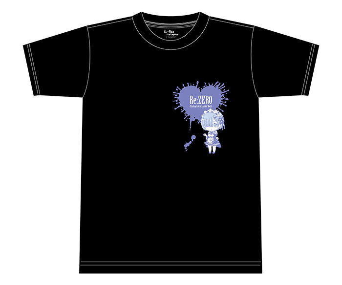 Tee-shirt : Re:ZERO -Starting Life in Another World-