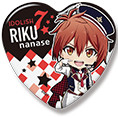 IDOLiSH7 Badges en Coeur