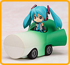 Vocaloid Pull-back Cars - Miku Hatsune