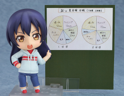 Nendoroid Umi Sonoda (Version Training Outfit) - Love Live! School Idol Project