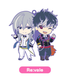 Nendoroid Rubber Strap - Re:vale - IDOLISH7