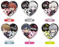 Nendoroid IDOLiSH7 Badges en Coeur  - IDOLISH7