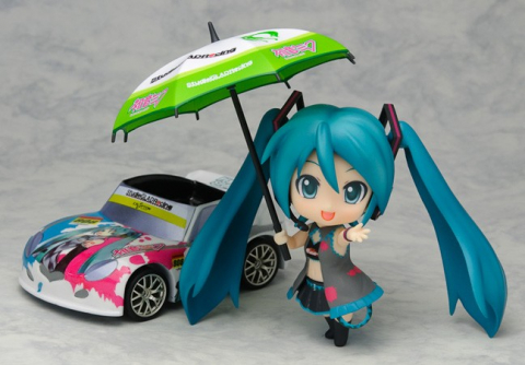 Nendoroid Miku Hatsune Racing Queen (Version 2009) - Vocaloid