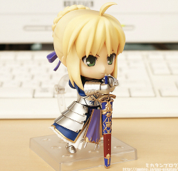 Nendoroid Saber (Version F.A.) - Fate/Stay Night
