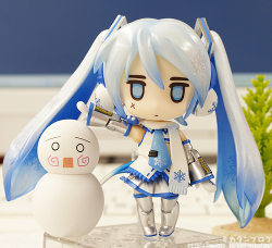 Nendoroid Miku Hatsune (Version Snow Playtime - Full Action) - Vocaloid