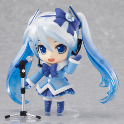 Nendoroid Miku Snow (version Fluffy Coat) - Vocaloid