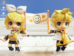 Nendoroid Len Kagamine (Version Cheerful Japan) - Vocaloid
