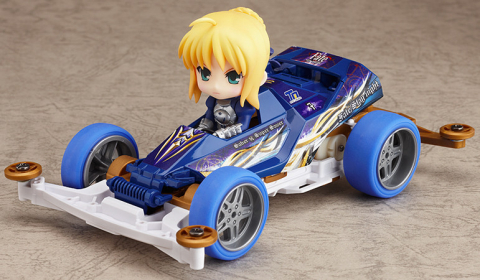 Nendoroid Saber --> Version Projet 4WD - Fate/Stay Night