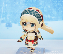 Nendoroid Hunter : Female (Edition Lagombi) - Monster Hunter 3
