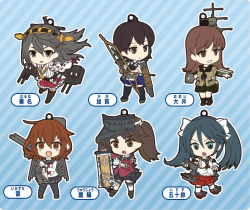 Nendoroid KanColle Straps - 1st Fleet (Vol.1) - Kantai Collection ~Kan Colle~