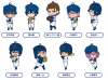Rubber Straps: Ace of Diamond - Nendoroid Plus
