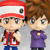 Pokemon Trainer Red & Green - Nendoroid