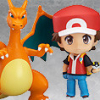 Pokemon Trainer Red (Version Champion) - Nendoroid