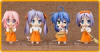 Lucky☆Star New Year Set (Capsule Version) - Nendoroid Petit