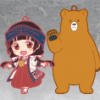 Rubber Straps : Kuma Miko : Girl meets Bear - Nendoroid Plus