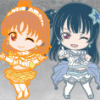Rubber Straps: LoveLive!Sunshine!! (Version Koi ni Naritai AQUARIUM) - Nendoroid Plus
