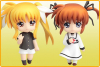 Nendoroid Petit : Mahou Shoujo Lyrical Nanoha The Movie 1st (set) - Nendoroid Petit
