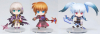 Magical Girl Lyrical Nanoha A's Portable - The Gears of Destiny (set de 3 figurines) - Spéciaux