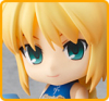 Saber et Rin Tosaka (Version Cheerful Japan) - Nendoroid