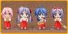 Lucky☆Star New Year Set - Nendoroid Petit