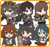 KanColle Straps - 1st Fleet (Vol.1) - Nendoroid Plus