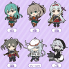 KanColle Straps - 4rd Fleet (Vol.4) - Nendoroid Plus