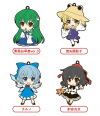 Rubber Straps : Touhou Project (Set #06)  - Nendoroid Plus